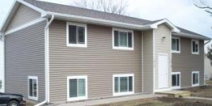 House done by a siding contractor in Ames, IA