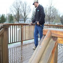 deck washing solution